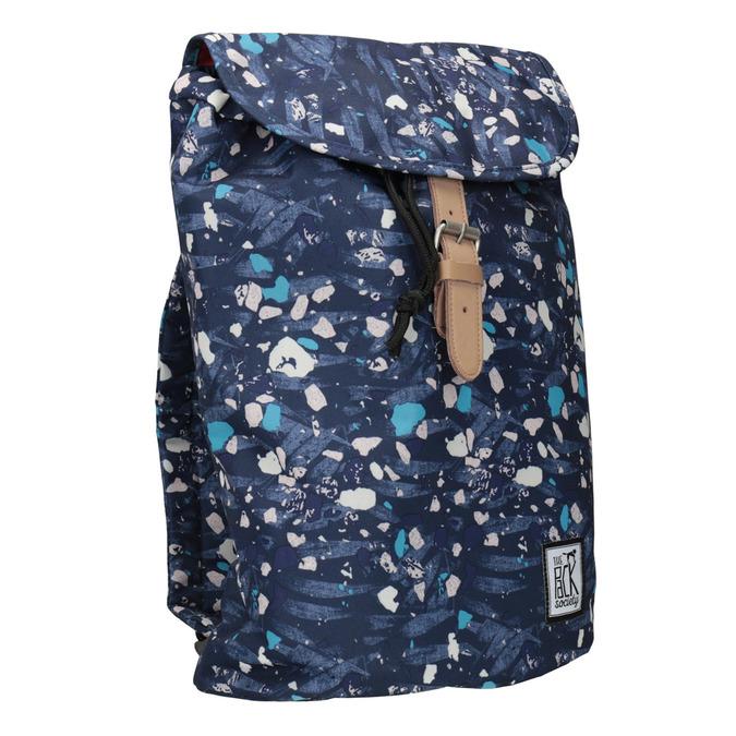Kolorowy plecak, niebieski, 969-9080 - 13