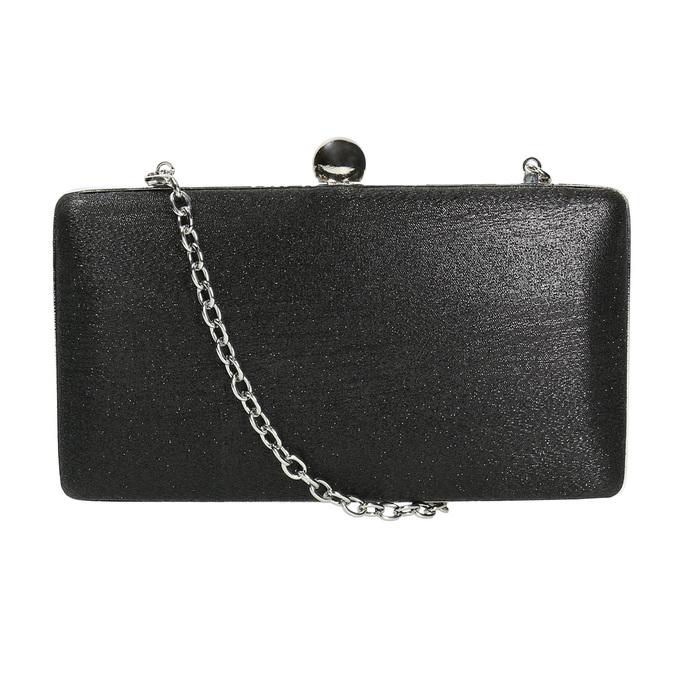 Sztywna kopertówka damska bata, czarny, 969-6660 - 26