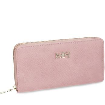 Różowy portfel damski bata, różowy, 941-0180 - 13