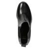 Skórzane botki damskie bata, czarny, 694-6641 - 26