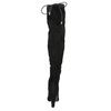Kozaki za kolana, na obcasach insolia, czarny, 799-6618 - 17
