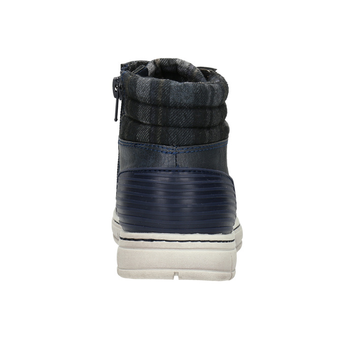 Botki dziecięce na zamki błyskawiczne mini-b, niebieski, 311-9611 - 17