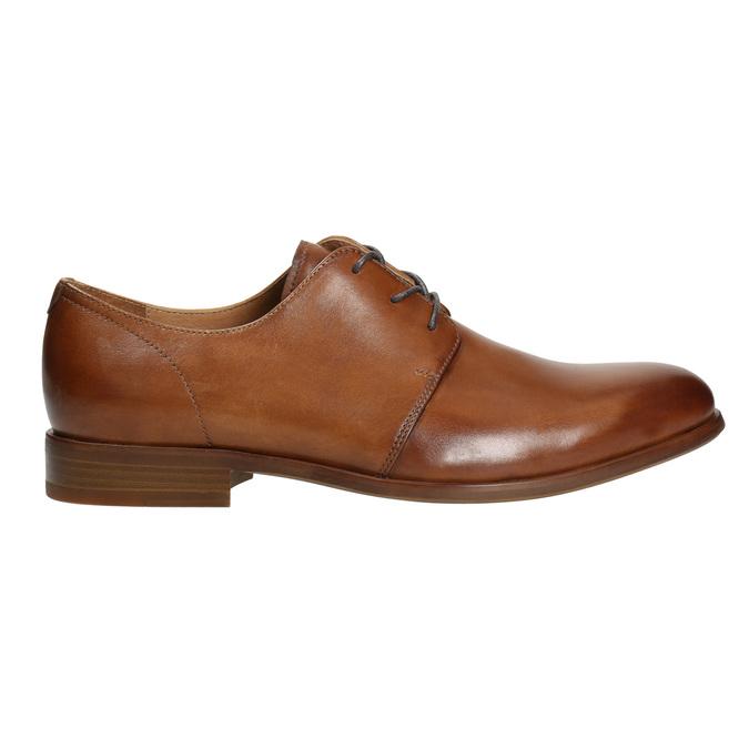 Skórzane półbuty wyjściowe bata, brązowy, 826-3680 - 15