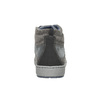 Trampki męskie za kostkę bata, szary, 846-2651 - 17