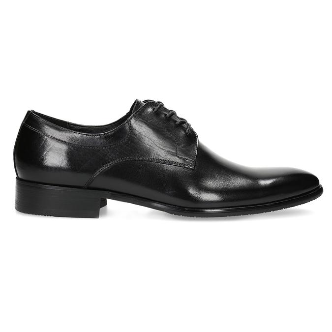 Skórzane półbuty męskie typu angielki bata, czarny, 824-6233 - 19