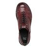 Skórzane półbuty damskie bata, czerwony, 526-5640 - 26