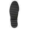 Buty ze skóry za kostkę z klamrami bata, czarny, 596-6660 - 17