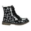 Sznurowane buty w gwiazdki mini-b, czarny, 291-6167 - 26