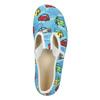 Domowe buty dziecięce w auta bata, niebieski, 279-9105 - 15