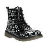 Sznurowane buty w gwiazdki mini-b, czarny, 291-6167 - 13