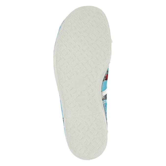 Domowe buty dziecięce w auta bata, niebieski, 279-9105 - 17