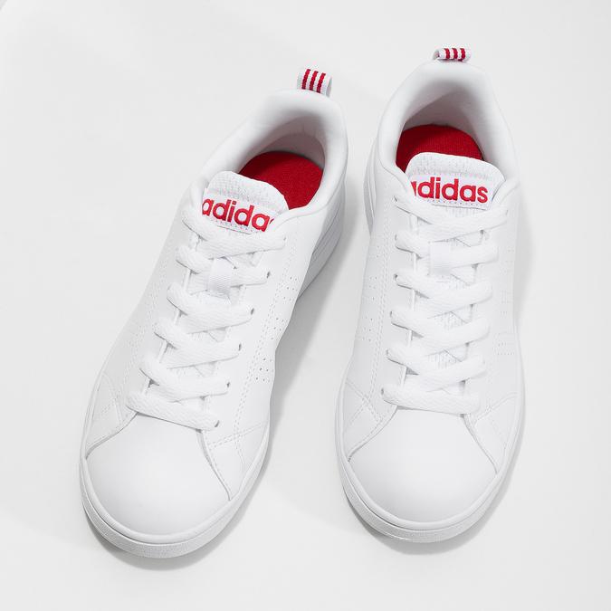 Białe trampki damskie adidas, biały, 501-5500 - 16