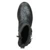 Buty skórzane za kostkę dla dzieci, czarny, 496-9015 - 15