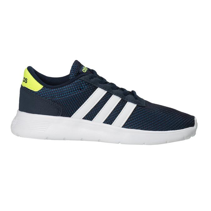 Niebieskie trampki dziecięce adidas, niebieski, 309-9288 - 26