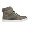 Dziecięce buty ze skóry za kostkę bullboxer, szary, 494-8023 - 26