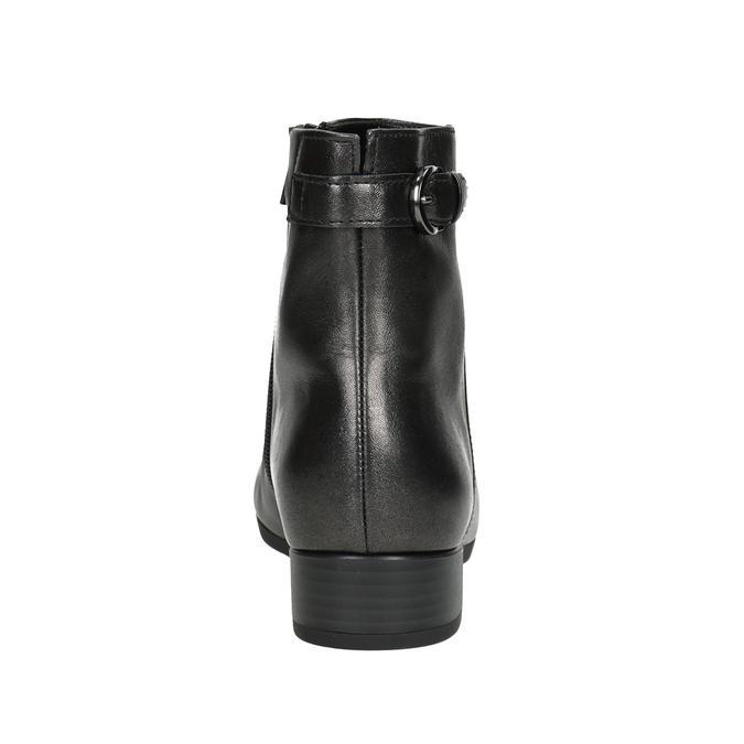Buty ze skóry za kostkę gabor, 616-4008 - 16