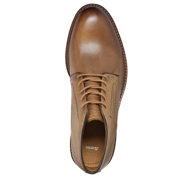 Skórzane obuwie męskie typu chukka bata, brązowy, 826-2919 - 15