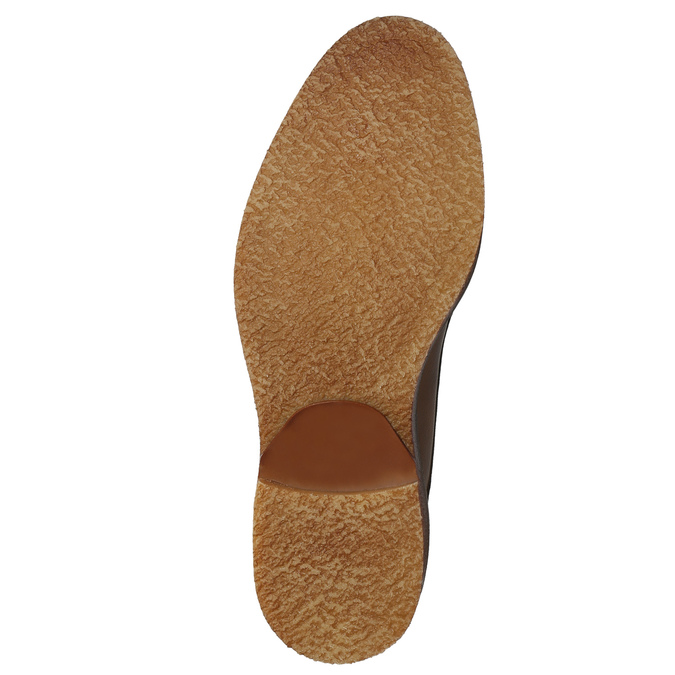 Skórzane obuwie męskie typu chukka bata, brązowy, 826-2919 - 17