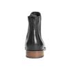 Skórzane botki damskie typu chelsea bata, czarny, 594-9636 - 16