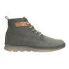 Skórzane buty męskie za kostkę weinbrenner, szary, 846-2656 - 26