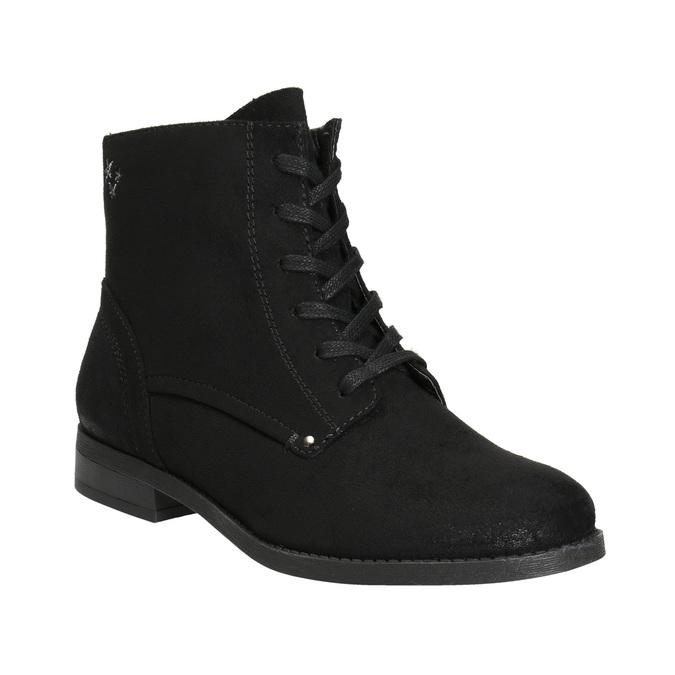 Botki damskie bata, czarny, 599-6617 - 13