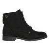 Botki damskie bata, czarny, 599-6617 - 15