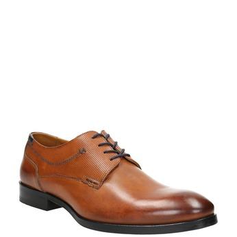 Brązowe półbuty męskie typu angielki bata, brązowy, 826-3915 - 13