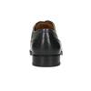 Skórzane półbuty zgranatowymi przeszyciami bata, czarny, 826-6915 - 17
