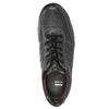 Skórzane trampki męskie bata, czarny, 824-6921 - 26