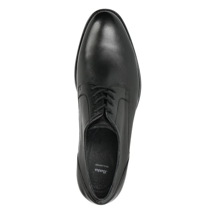 Półbuty męskie typu angielki bata, czarny, 824-6618 - 26
