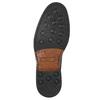 Brązowe nieformalne półbuty ze skóry bata, brązowy, 826-4914 - 19