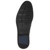 Skórzane buty męskie za kostkę bata, czarny, 824-6913 - 19