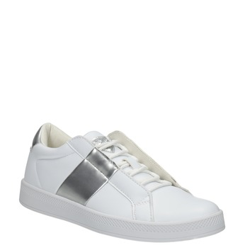 Damskie białe trampki, biały, 501-1171 - 13