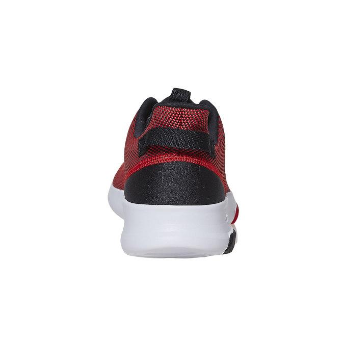 Czerwone trampki męskie adidas, czerwony, 809-5201 - 17
