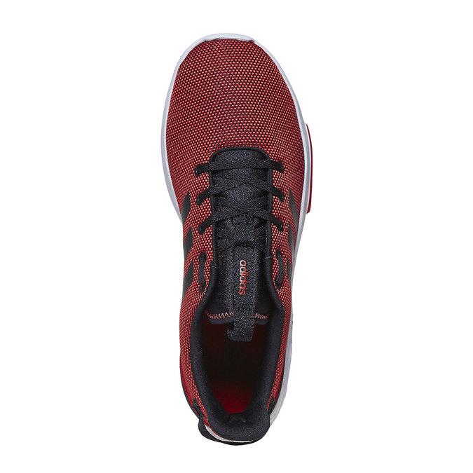 Czerwone trampki męskie adidas, czerwony, 809-5201 - 19