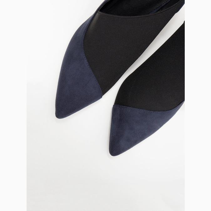 Czółenka damskie na szpilkach insolia, niebieski, 729-9608 - 18