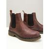 Skórzane obuwie damskie typu chelsea bata, brązowy, 596-3680 - 14