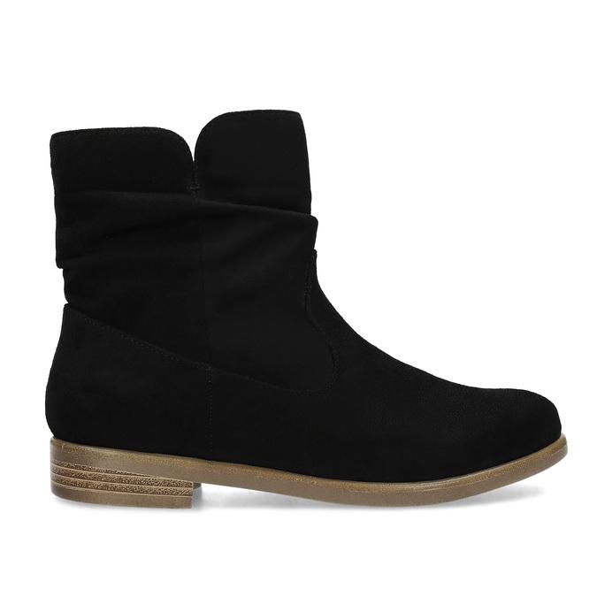 Botki damskie bata, czarny, 599-6614 - 19