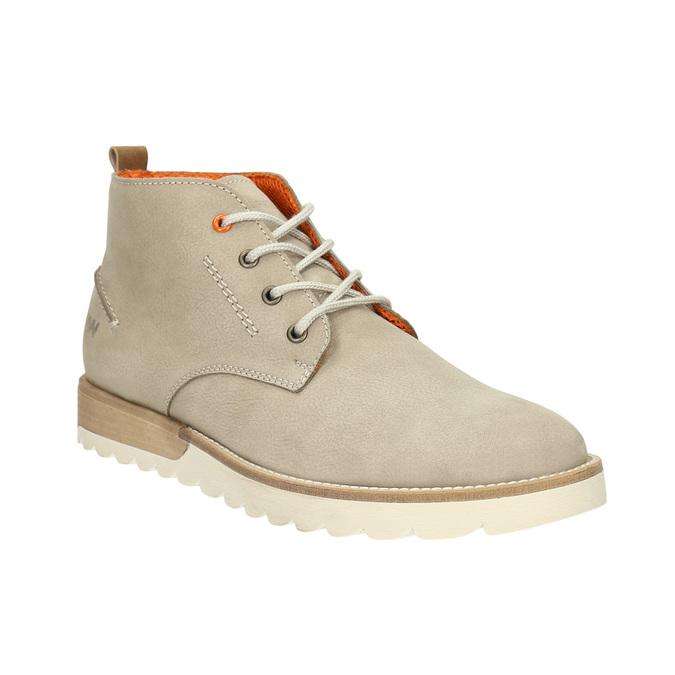 Męskie buty za kostkę weinbrenner, beżowy, 846-8701 - 13
