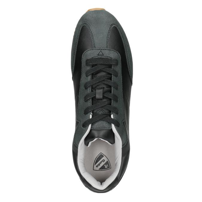 Nieformalne trampki męskie atletico, czarny, 801-6180 - 15