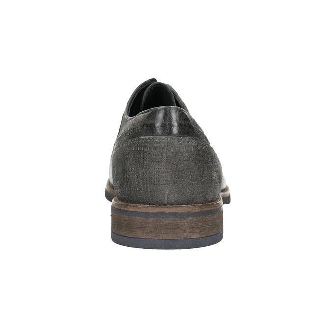 Nieformalne półbuty męskie bata, szary, 826-2610 - 17