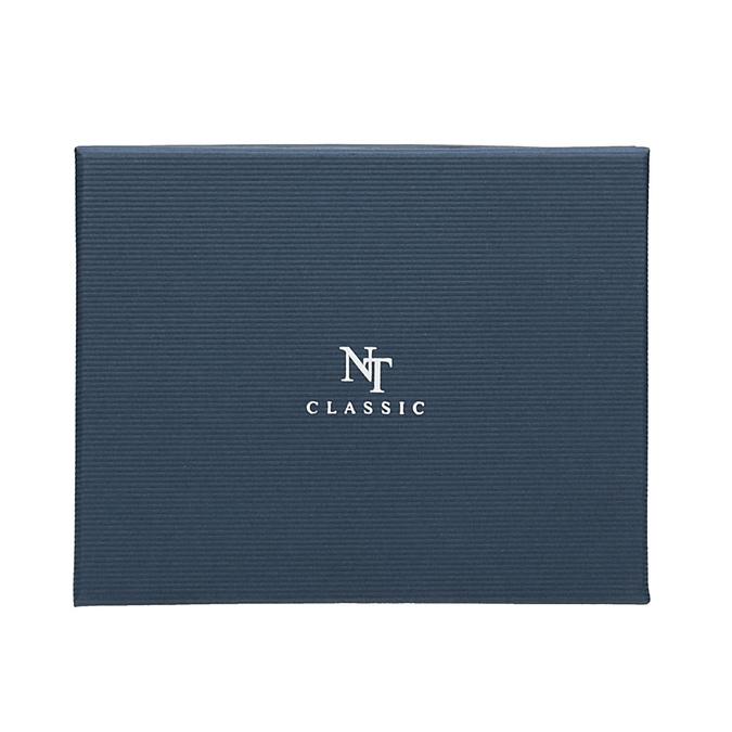 Komplet krawatu, poszetki ispinek do mankietów bata, niebieski, 999-9298 - 16