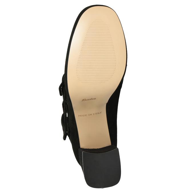 Czarne czółenka zklamrami bata, czarny, 723-6984 - 17