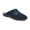 Granatowe kapcie damskie bata, niebieski, 579-9621 - 13