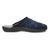 Granatowe kapcie damskie bata, niebieski, 579-9621 - 19