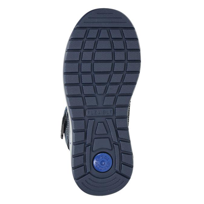 Zimowe buty dziecięce mini-b, niebieski, 293-9615 - 19