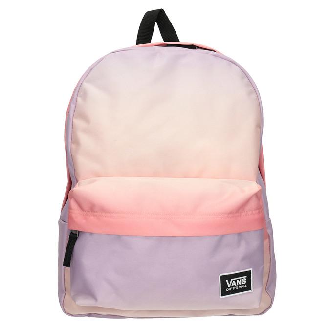 Pastelowy plecak damski zefektem ombré vans, czerwony, 969-5079 - 26