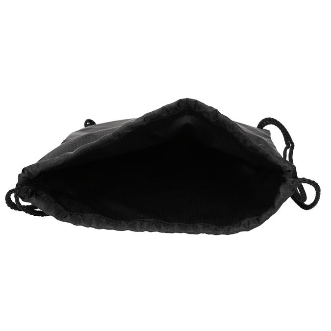 Czarny plecak worek unisex vans, czarny, 969-9086 - 15