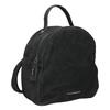 Skórzany plecak damski fredsbruder, czarny, 966-6054 - 13