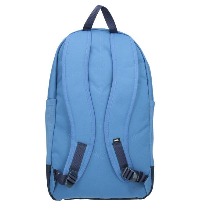 Niebieski plecak zczerwoną kieszenią vans, niebieski, 969-9095 - 16